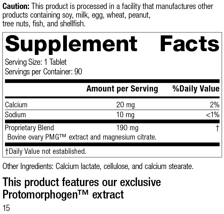 Ovatrophin PMG® Supplement Facts