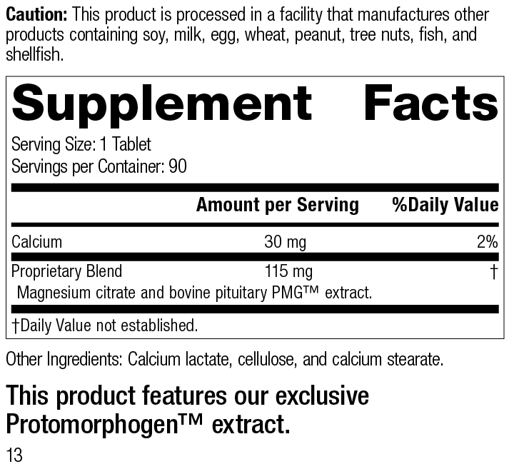 Pituitrophin PMG® Supplement Facts