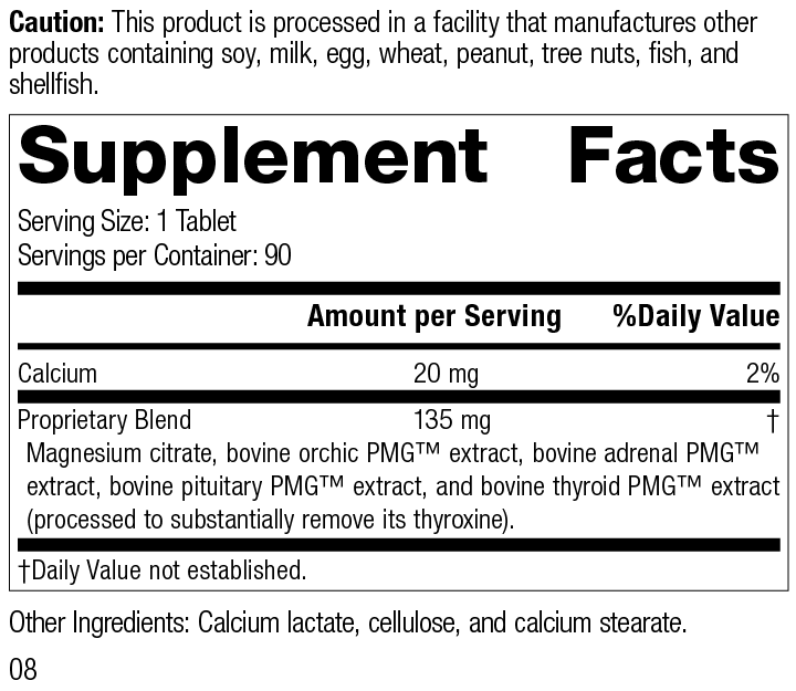 Symplex® M Supplement Facts